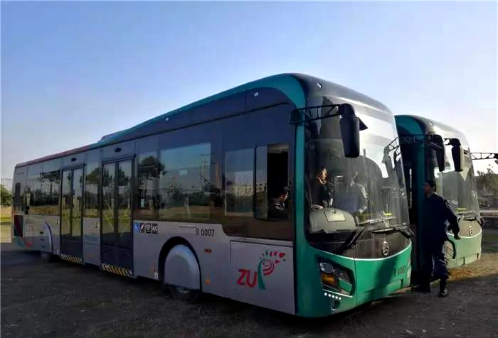 220 Golden dragon buses are exported to Pakistan this year