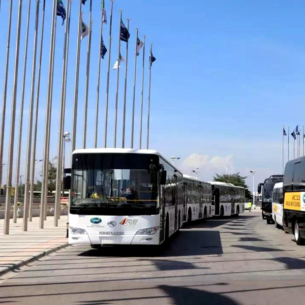 Kinglong Bus is spread all over the Belt and Road countries