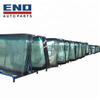 Bus body parts front windshield glass for Chinese Bus